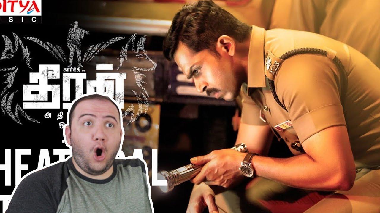 Producer Reacts: Theeran Adhigaaram Ondru Official Teaser  Theeran Adhigaaram Ondru  Karthi