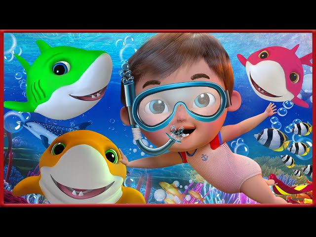 🔴 Baby Shark , Wheels on the Bus , Happy Birthday Song, Johny Johny Yes Papa - Banana Cartoon