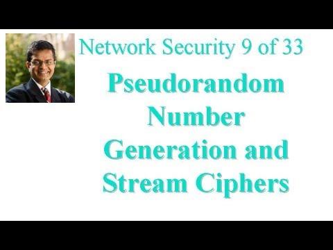 CSE571-11-07: Pseudorandom Number Generation and Stream Ciphers