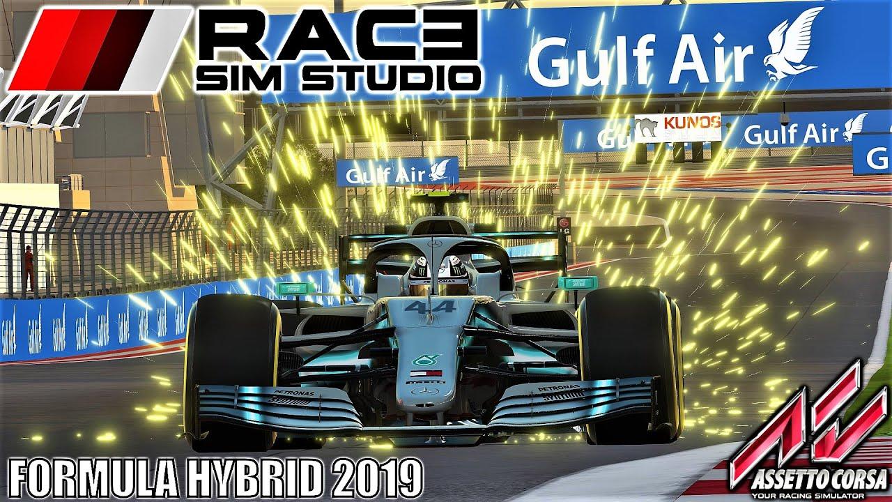 RSS Formula Hybrid 2019 HOTLAP at Bahrain | Assetto Corsa | 4K