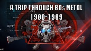 80 S Metal Music A Trip Through 80s Metal 1980 1989 Ver4