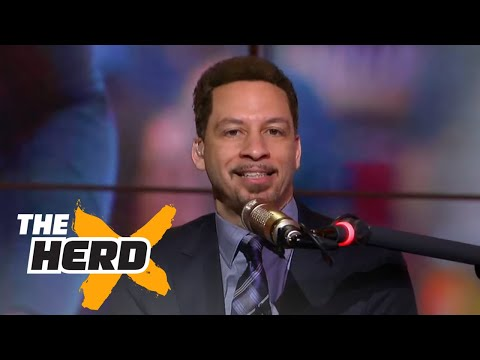 Colin Cowherd and Chris Broussard spar over Westbrook's MVP case | THE HERD