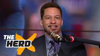 Colin Cowherd and Chris Broussard spar over Westbrook