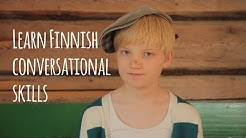Learn Finnish conversational skills with Kirikou