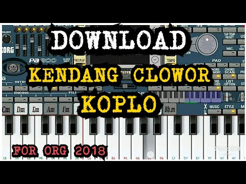 KOPLO KENDANG CLOWOR,Download Style For ORG 2018