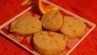 Orange Shortbread: Cookie Jar #33