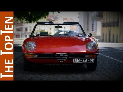 The Top Ten Best Classic Alfa Romeo Models