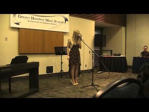 Jessica Brooks Greater Hamilton Music Festival Pop...