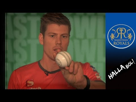 HOW TO SEAM BOWL: Rajasthan Royals' James Faulkner explains  How to play cricket