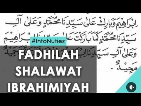 Fadhilah Sholawat Ibrohimiyah Nutizen