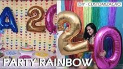 DIY: PARTY RAINBOW / Aniversário LGBT