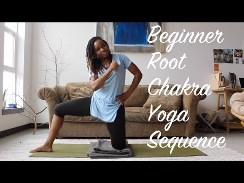 root chakra beginner yoga sequence  youtube
