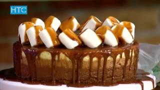 "Оформляем торт ""Три шоколада"" / УтроLive / 04.04.17 / НТС"