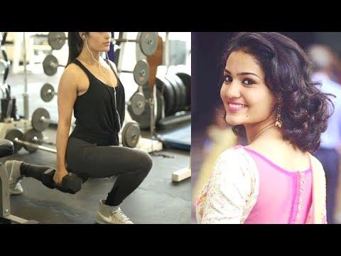 Malayalam Actress Saniya Iyappan Work Out in Gym Video