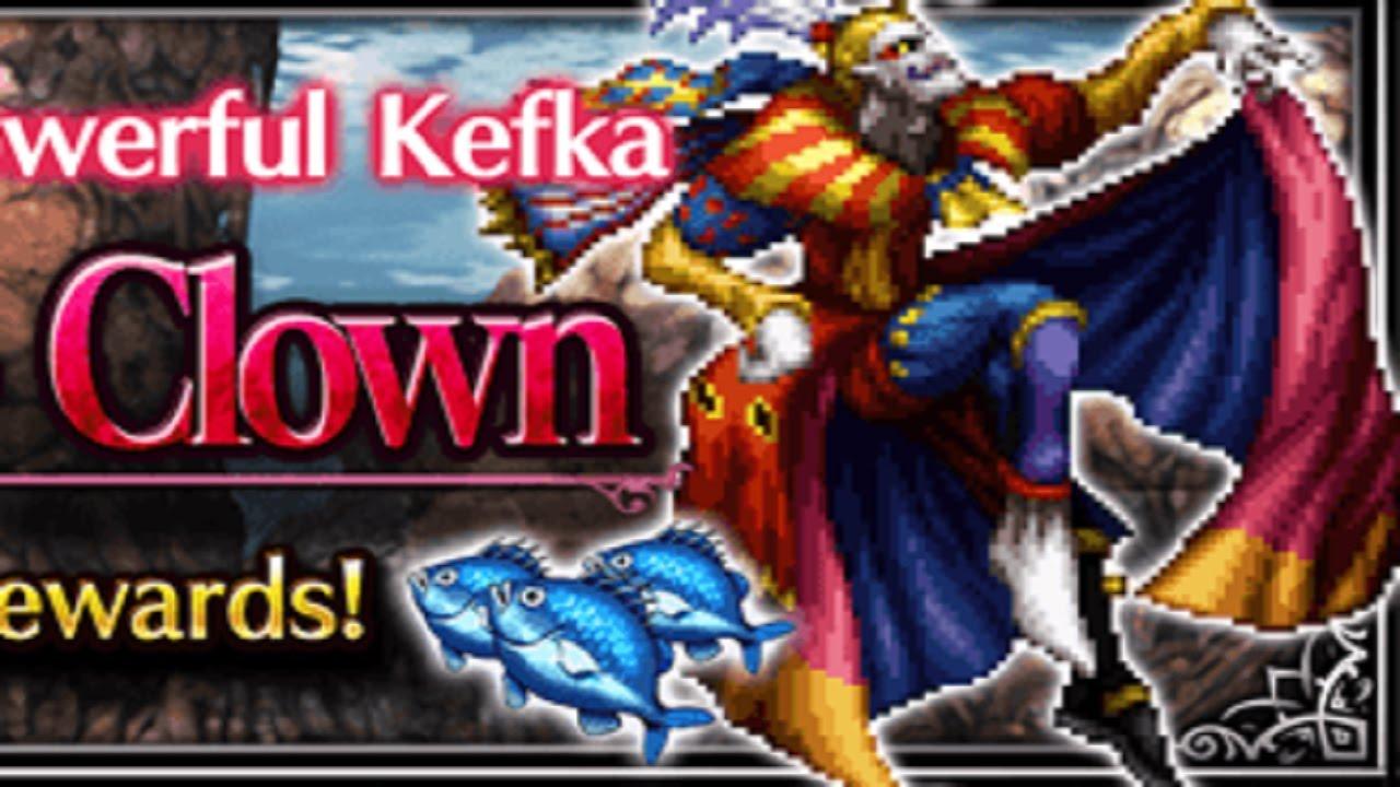 Ffbe Ffvi Event The Psycho Clown Kefka No Setzer Youtube