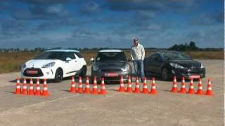 Test-drive: Mini Cooper S vs. Citroen DS3 vs. Peugeot RCZ