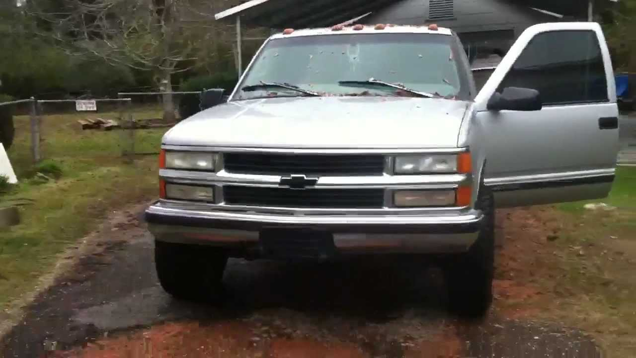 All Chevy 1999 chevrolet c2500 : How to remove your daytime running lights on a 96-99 Chevy - YouTube