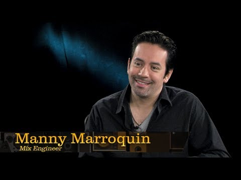 Mix Engineer Manny Marroquin - Pensado's Place #105
