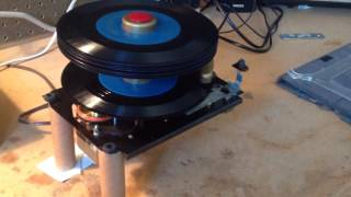 RCA Victor 45-J-3.  RP-193 Record Changer Mechanism.  45 rpm Record Player Phonograph Part Two
