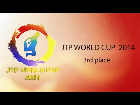 x PUSH x JTP WORLD CUP 2014 x 3rd PLACE x