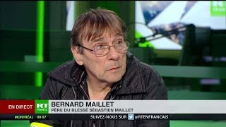 Le père du Gilet jaune blessé témoigne sur RT France