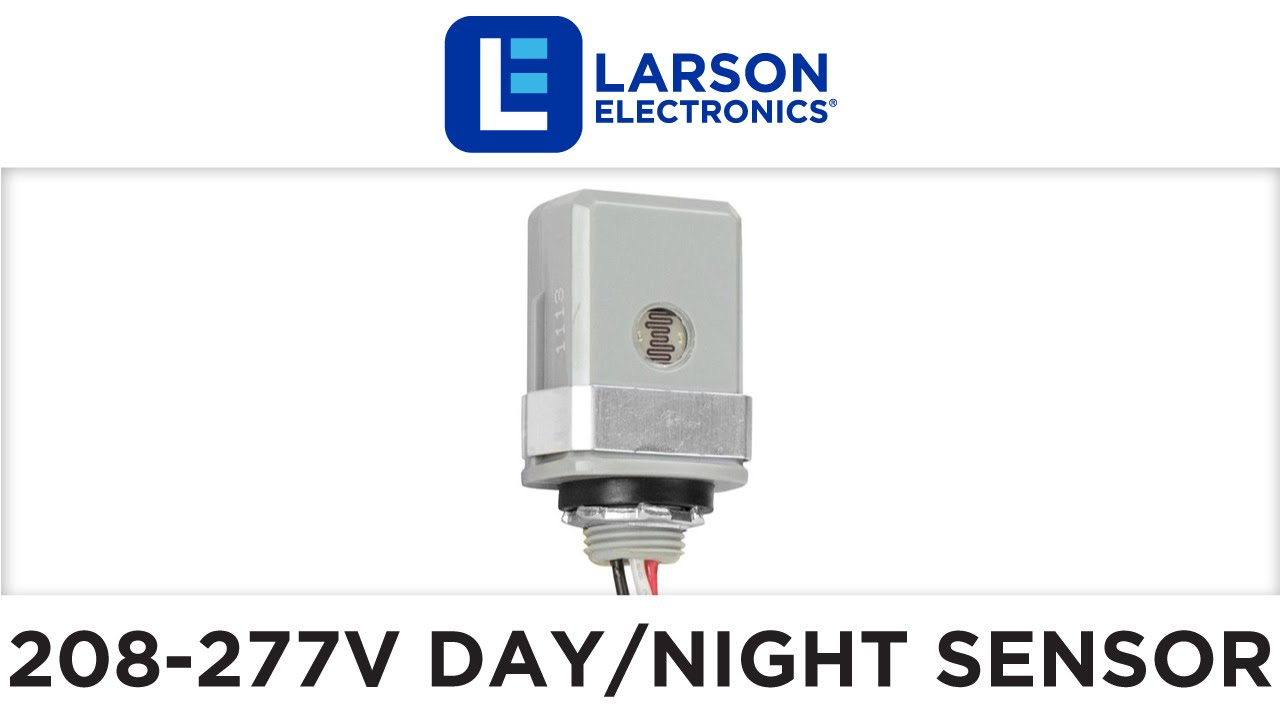 small resolution of 208 277 volt day night sensor for 208y 220v 240v and 277v ac led lights up to 1000 watts youtube