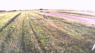 hoverfly y 6 fresno field flying fpv tiger moth collision flying after prop failure y6 redundancy