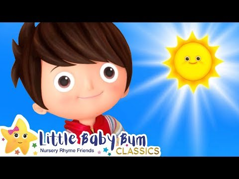The Sun In The Sky Song | Nursery Rhymes And Kids Songs | Baby Songs | Little Baby Bum