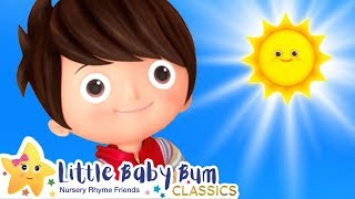 The Sun in The Sky Song | Nursery Rhymes and Kids Songs | Baby Songs | Learn with Little Baby Bum