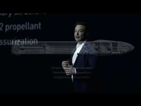 SpaceX News - Elon Musk talks about his Future Spaceships