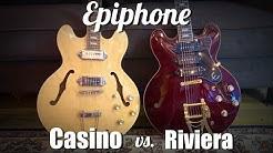 Epiphone Casino vs Epiphone Riviera Custom p93