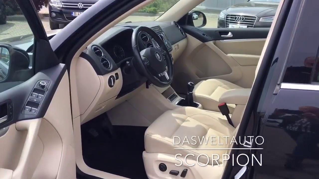 Volkswagen tiguan 2014 black ext. Beige interior. - YouTube