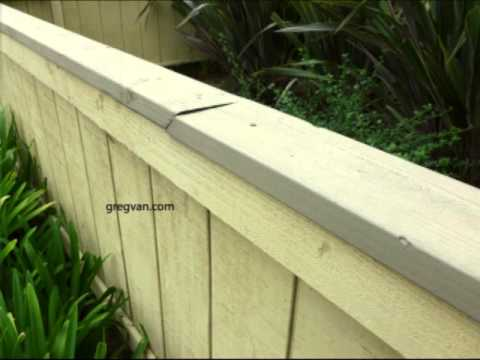 Problems With Fence, Guard Rail or Handrail Cap and Solution