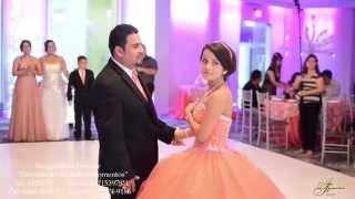 Andrea Xv Años Baile Con Su Papá