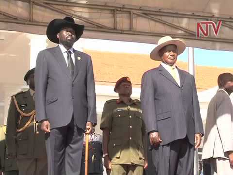 Salva Kiir on 2 day State visit