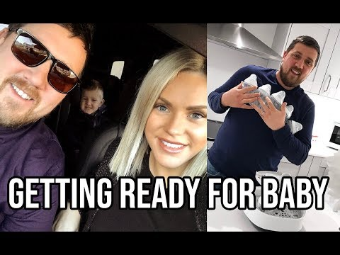 GETTING READY FOR BABY AND 36 WEEK GROWTH SCAN UPDATE