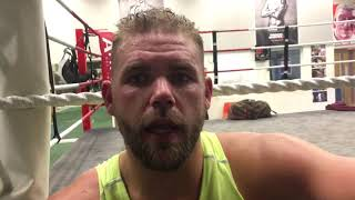 BILLY JOE SAUNDERS DEFENDS DECISION TO FIGHT ON LOGAN PAUL - KSI UNDERCARD..