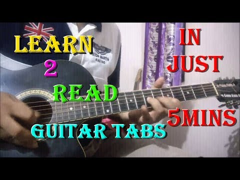 Guitar pehla nasha guitar tabs lesson : How To Read Guitar Tabs | Beginners Lesson In Hindi - YouTube