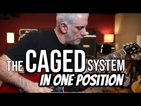 The CAGED System In One Position