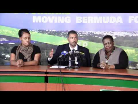 PLP Announce Candidate John Gibbons Bermuda March 14 2012
