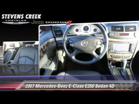 Used 2007 mercedes benz e class e350 san jose youtube for Mercedes benz stevens creek san jose