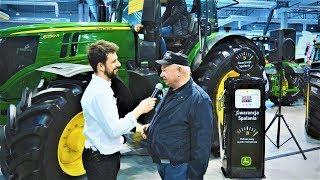 Jak Obniżyć Spalanie w Ciągniku Rolniczym ? John Deere i Mazurskie Agro Show 2019