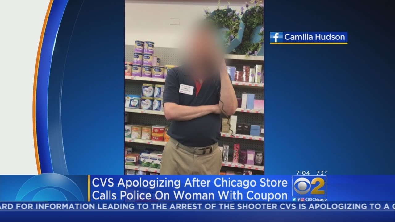 CVS Apologizing For Booting Customer From Store over Racist Coupon incident
