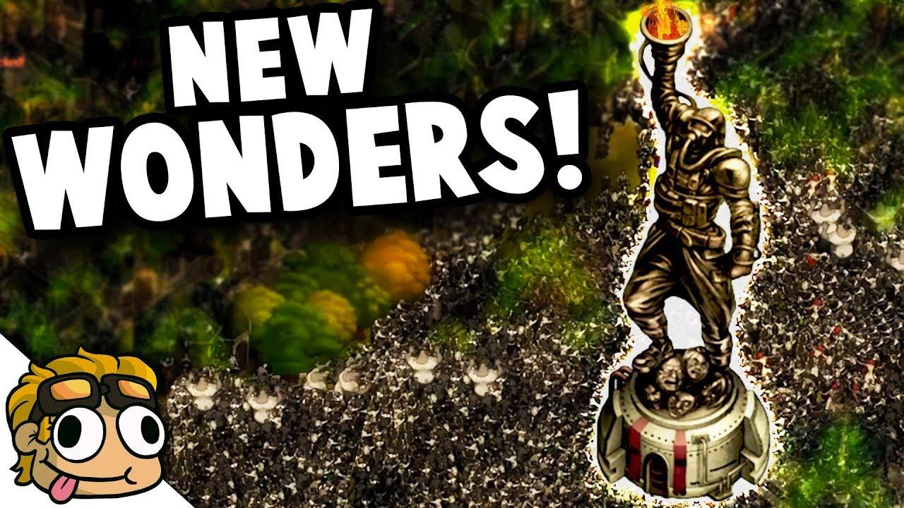 6 WONDERS, HUGE NEW UPDATE! | They Are Billions Beta 0 8 Update Gameplay