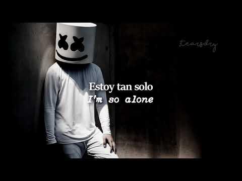 alone-(marshmello).-♡- -lyrics-/letra/subtitulada
