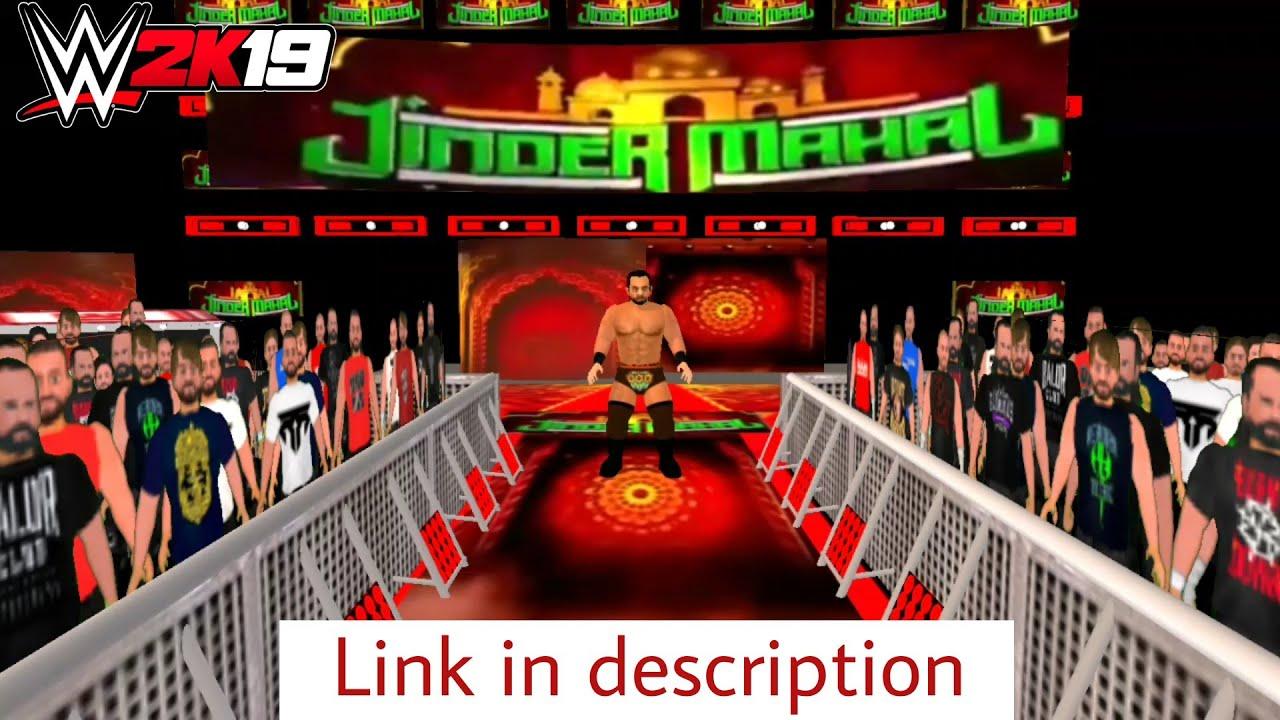 Jinder Mahal In WR3D 2K19 Mod