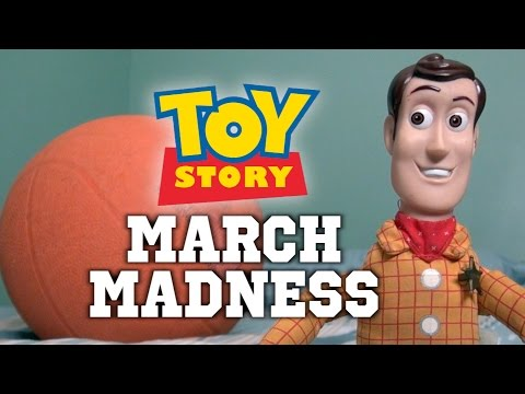 Woody Toy Story 4 Parody: March Madness Basketball Attacks!  Buzz Lightyear New Toy Story
