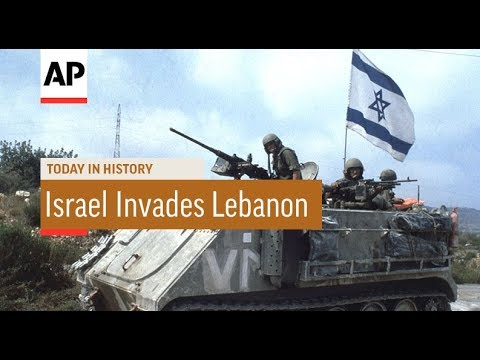 Israel Invades Lebanon - 1982 | Today In History | 6 June 18