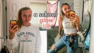 a much needed back to school glow up