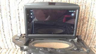 Lenovo S939 smartphone in Volvo RTI
